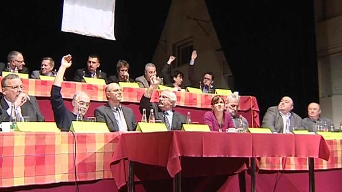 Zasedání zastupitelů