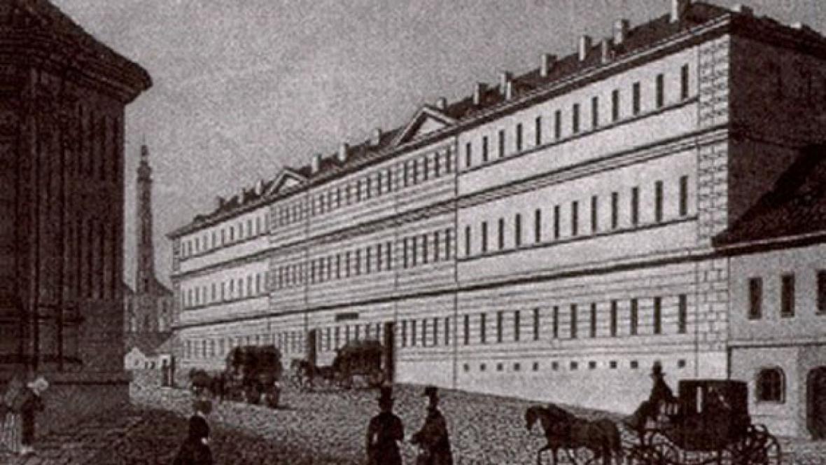 Všeobecná fakultní nemocnice v roce 1792