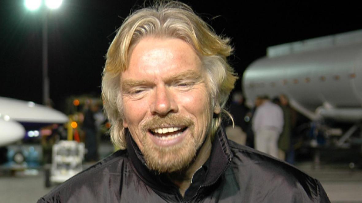 Miliardář Richard Branson