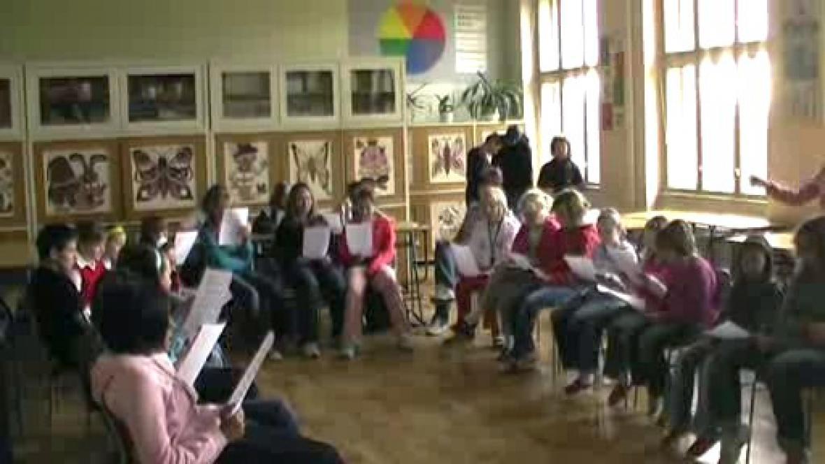 Den jazyků na ZŠ Poběžovice