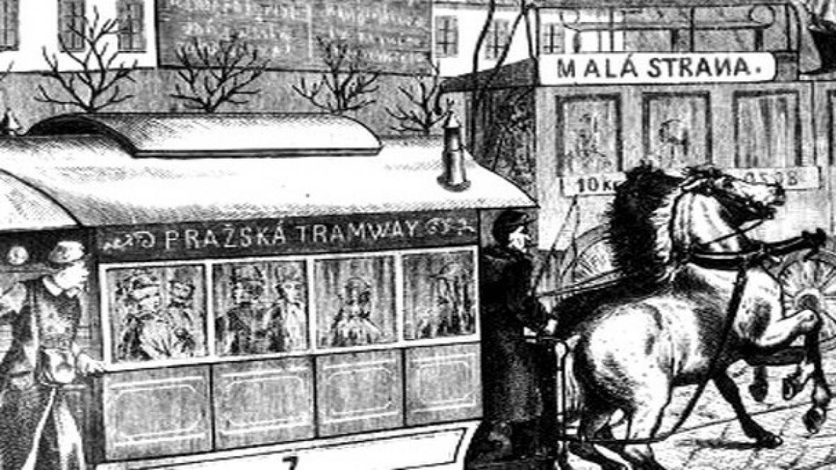 Koňská tramvaj