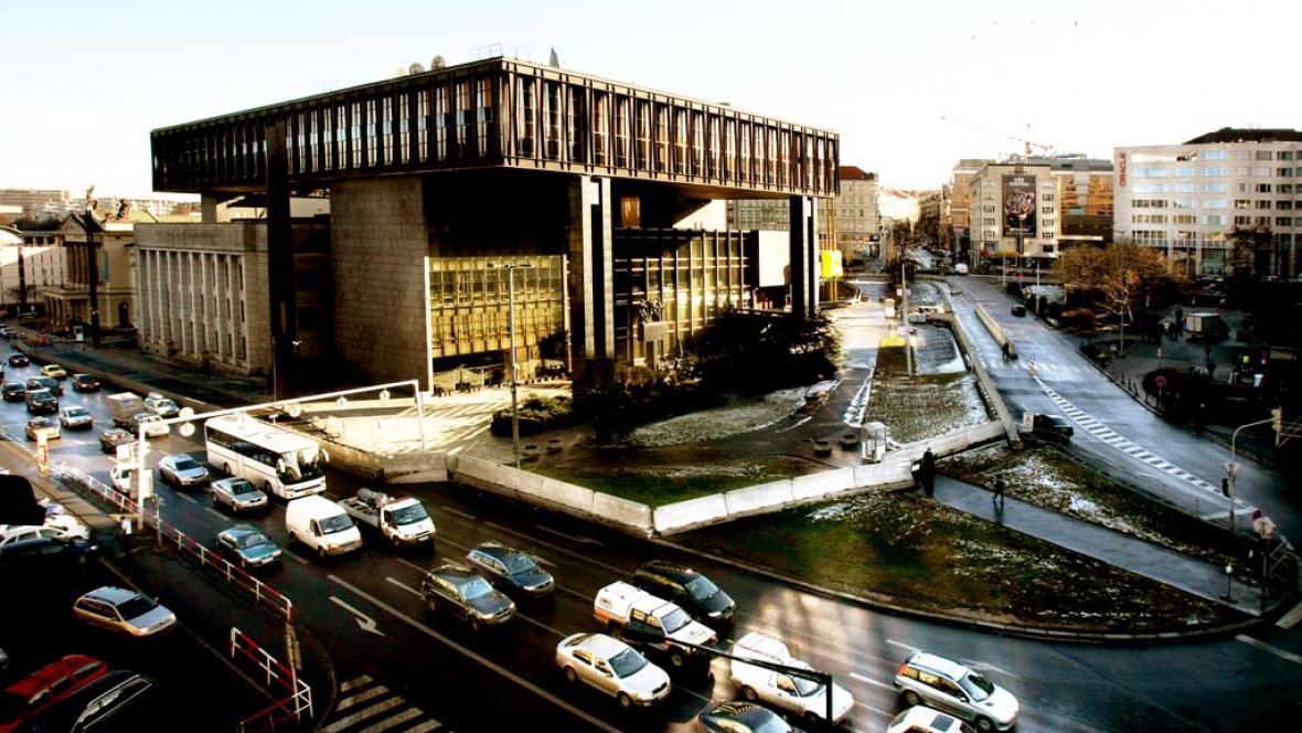 Budova Svobodné Evropy na Václavském náměstí