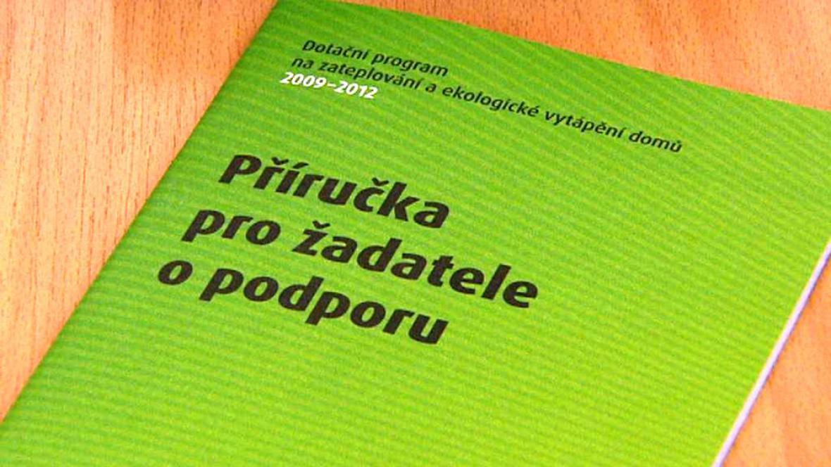 Projekt Zelená úsporám doznal zjednodušení