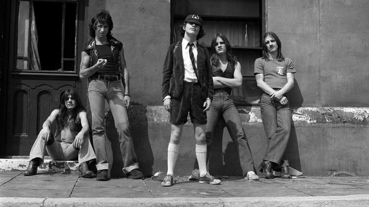Hudebníci z AC/DC
