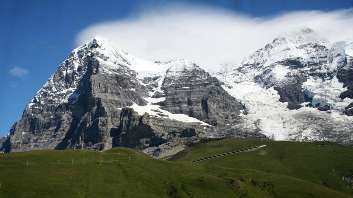 Eiger blízko Kleine Scheidegg
