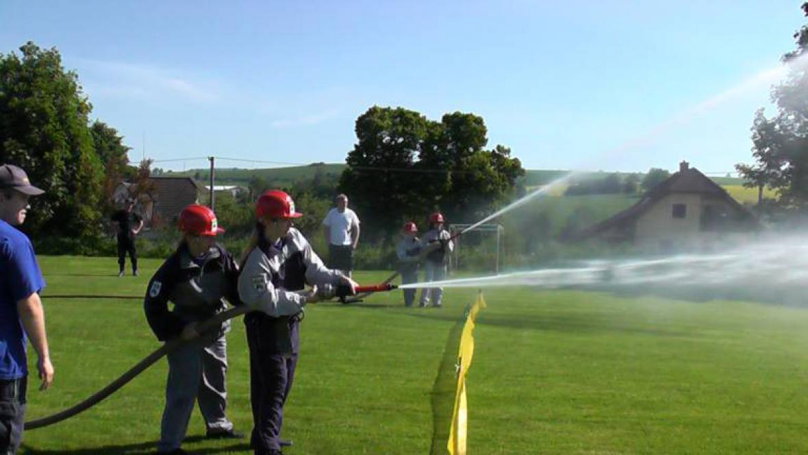 Dětská hasičská liga zavítala do Rozsoch