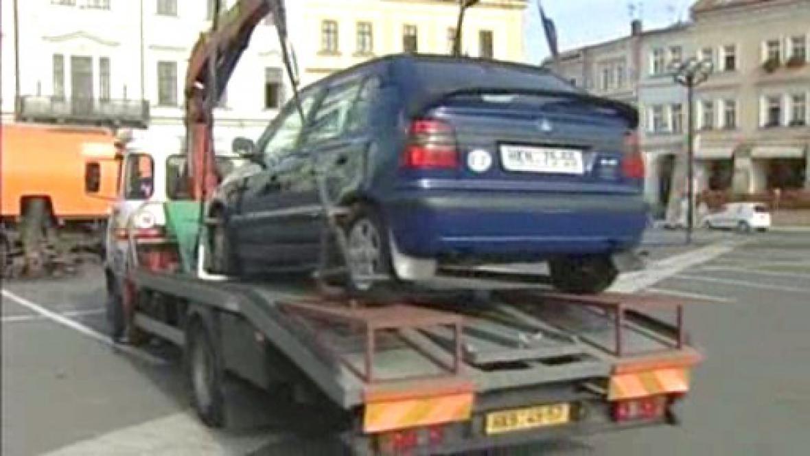 Odtah vozidla
