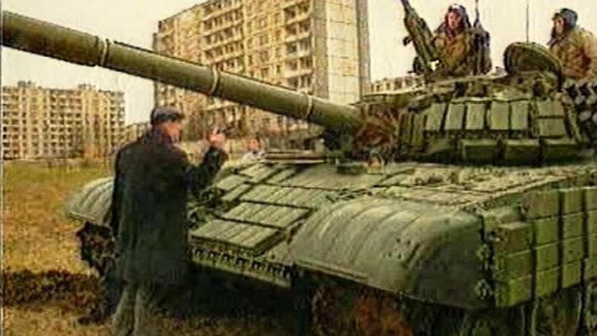 Sovětští vojáci v Litvě