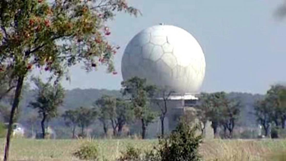 Radar NATO na Chlumecku
