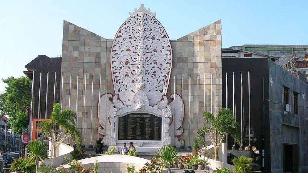 Památník obětem teroristického útoku na Bali