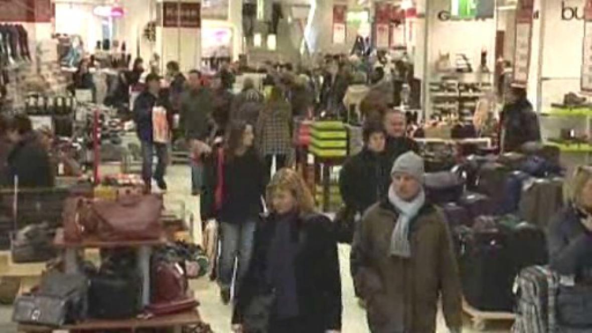 Češi nakupují v Německu