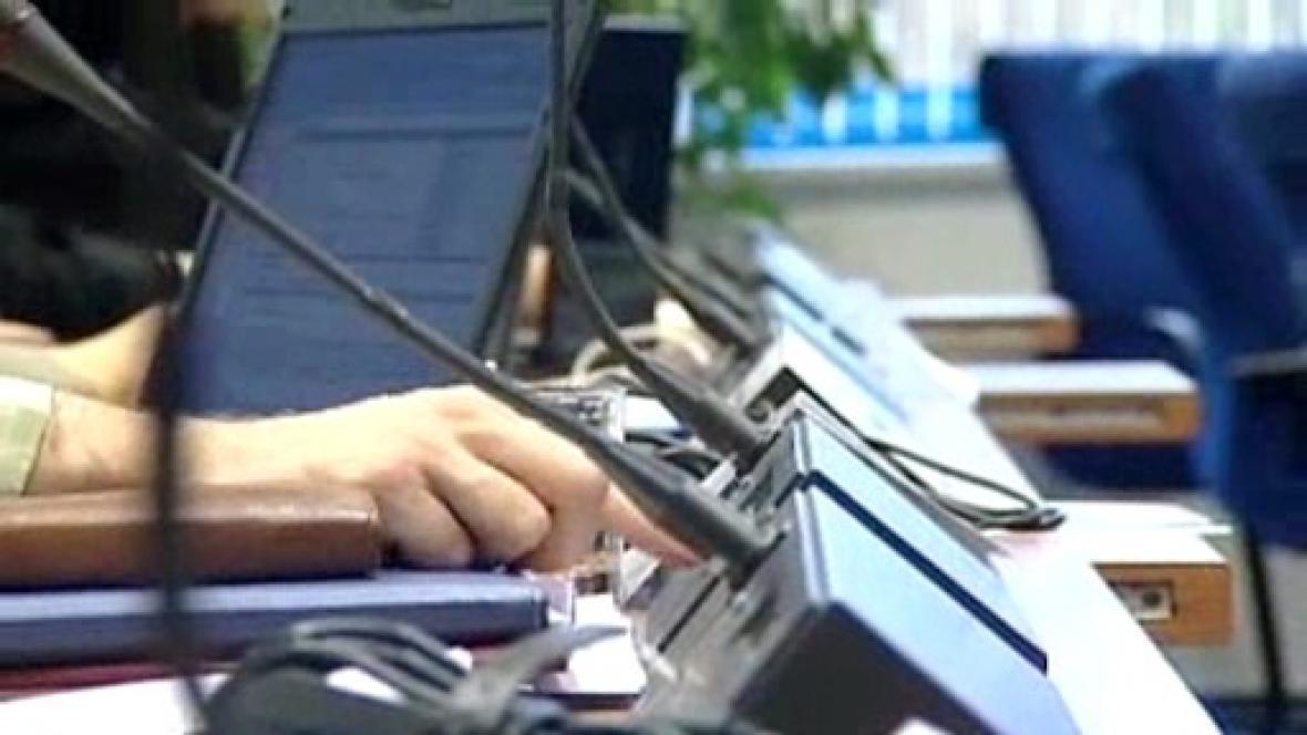 Stávající hlasovací zařízení