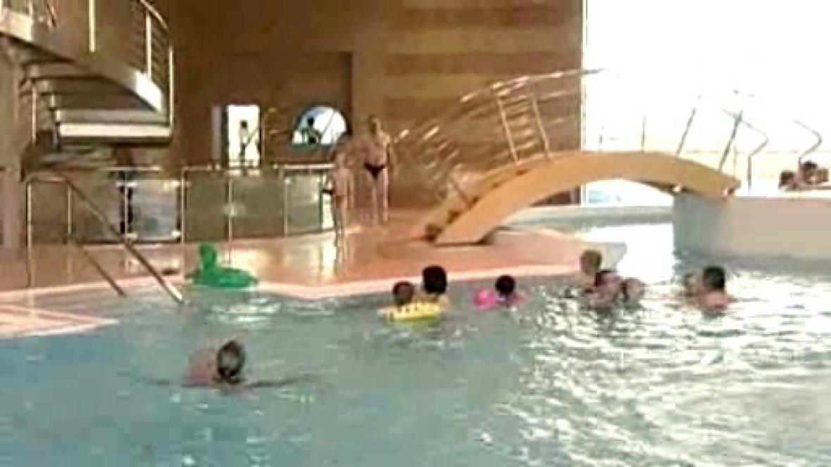 Bazén v Jindřichově Hradci