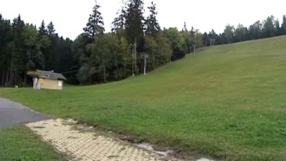 Skiareál v Mariánských Lázních