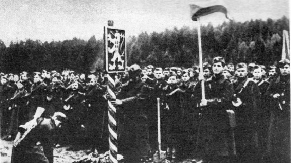 Československá jednotka na Dukle v roce 1944