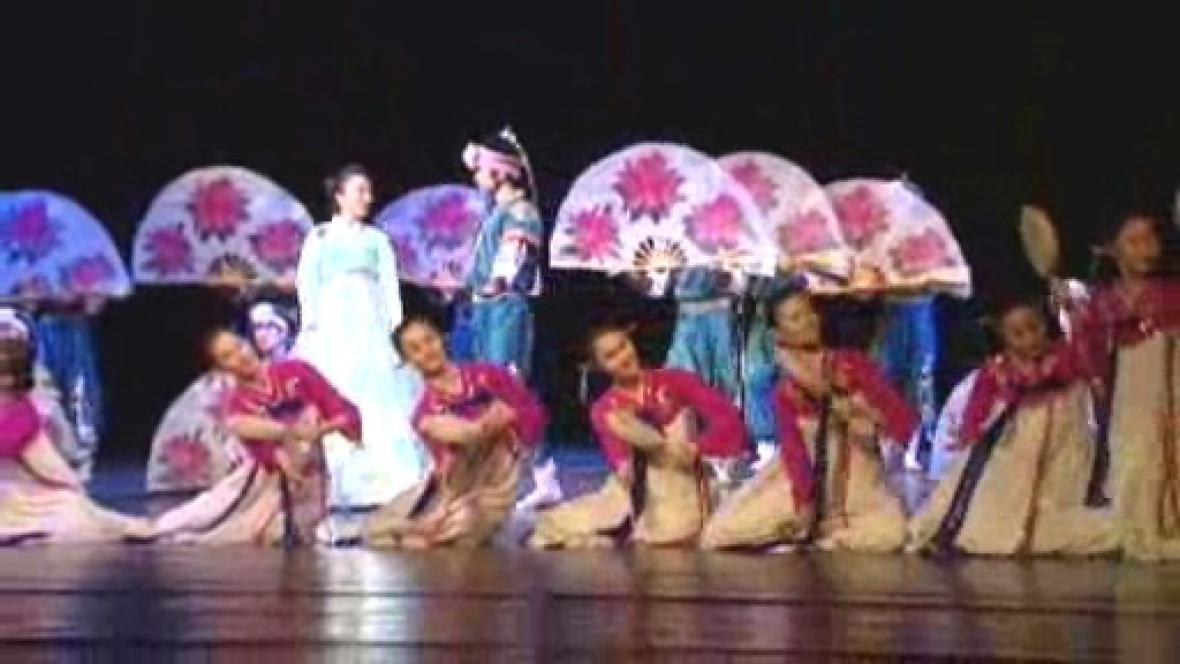 Čínské taneční umění