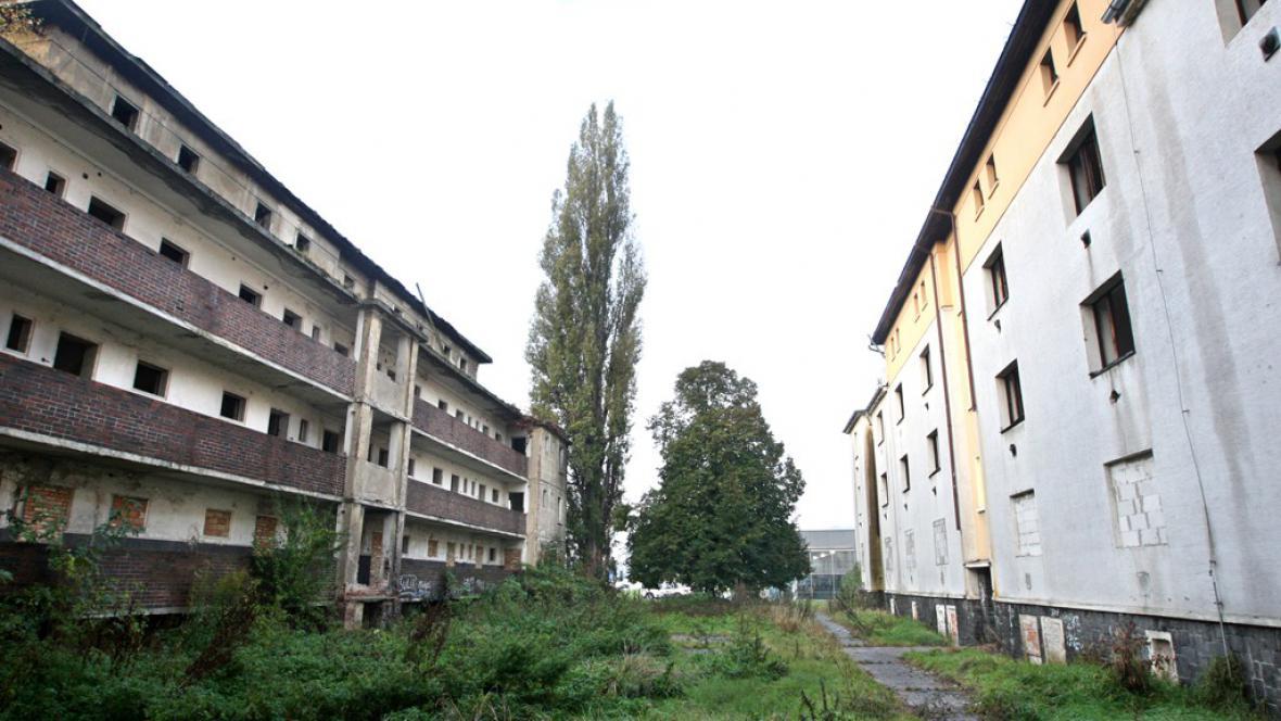 Matiční ulice v Ústí nad Labem