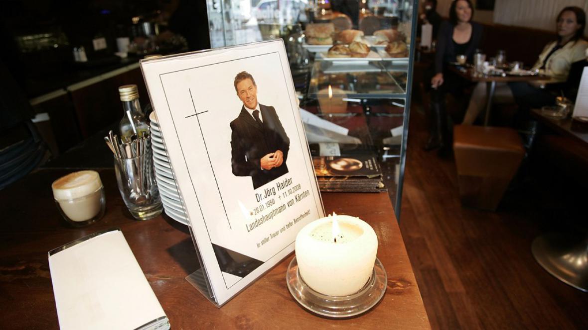 Pohřeb Jörga Haidra