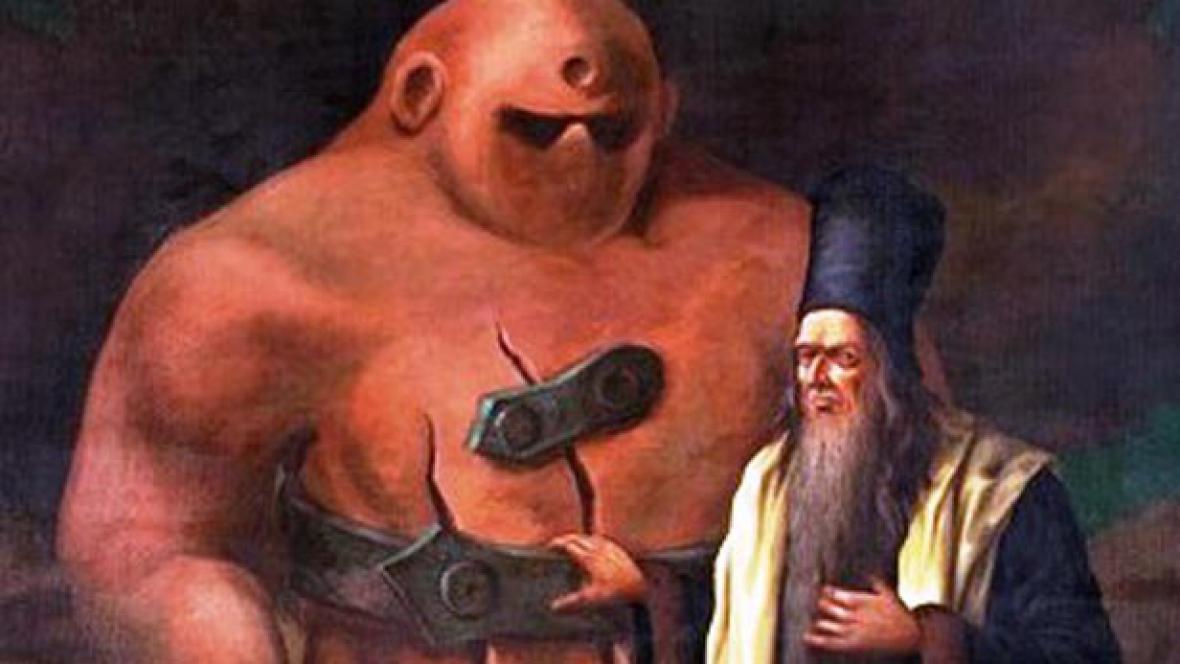 Rabi Löw a Golem
