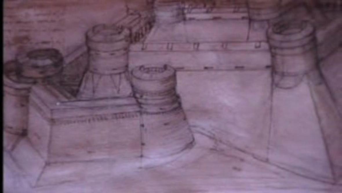 Kresba z Atlantického kodexu