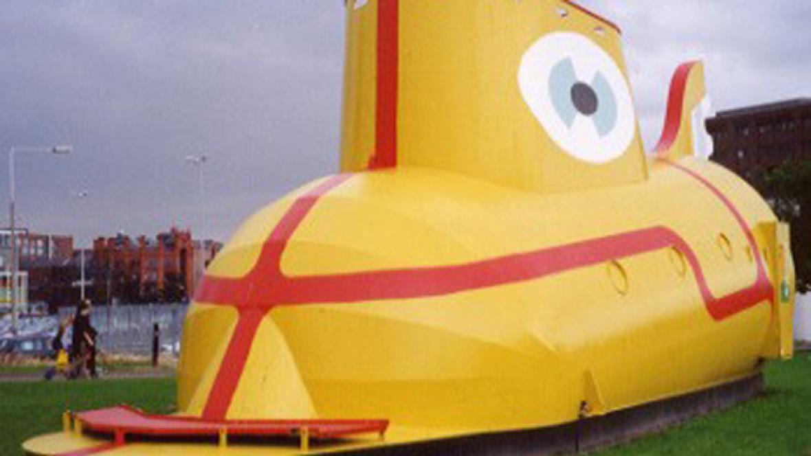 Žlutá ponorka