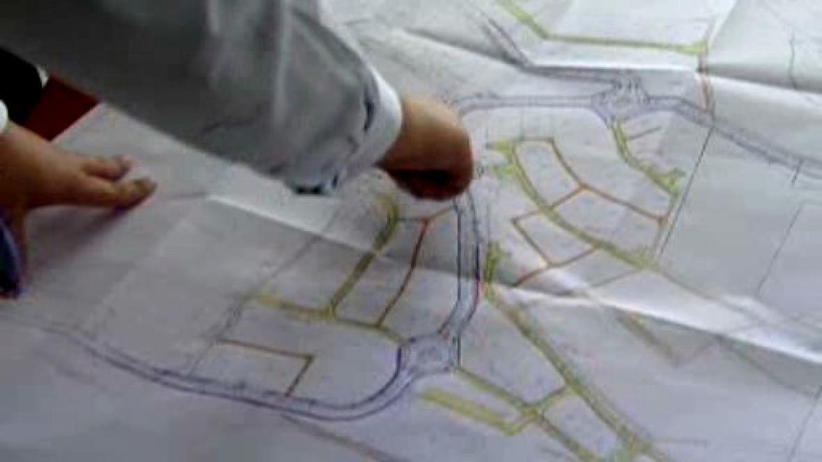 Plány projektu Ostrovské rondo