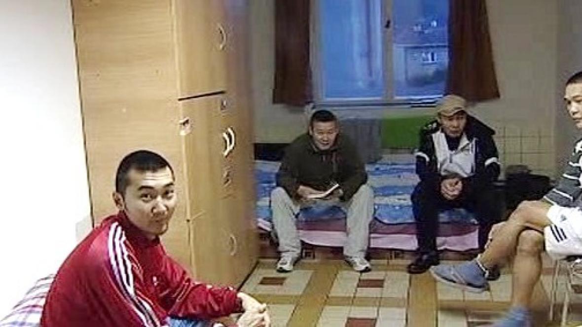Cizinci na ubytovně