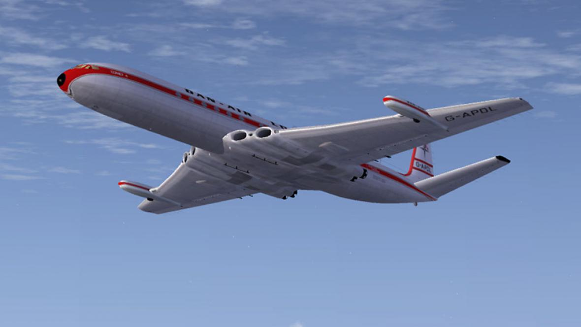 Proudové letadlo Comet
