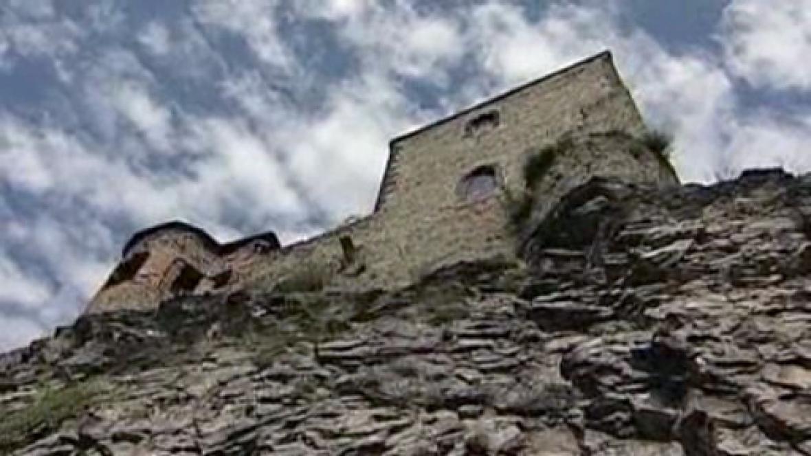 Zřícenina hradu Střekov