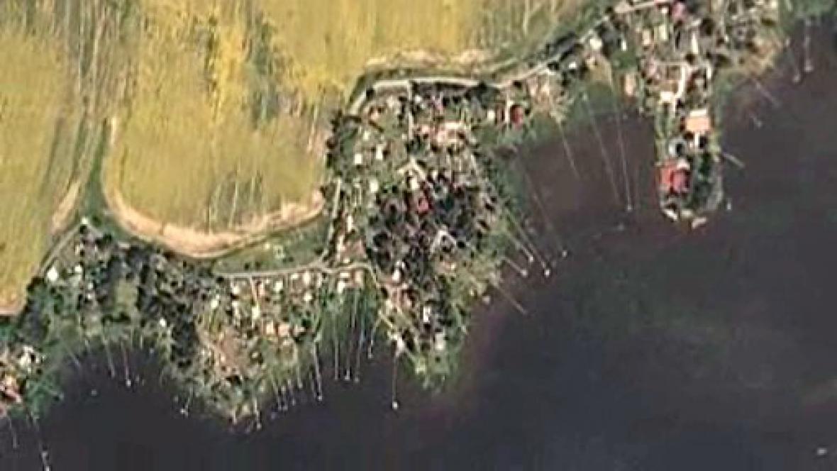 Chatová oblast Velký rybník