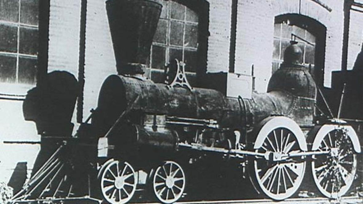Lokomotiva z raných železničních dob