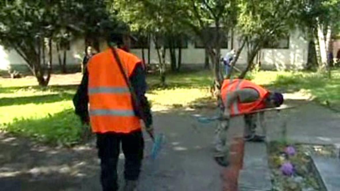 Pracující bezdomovci