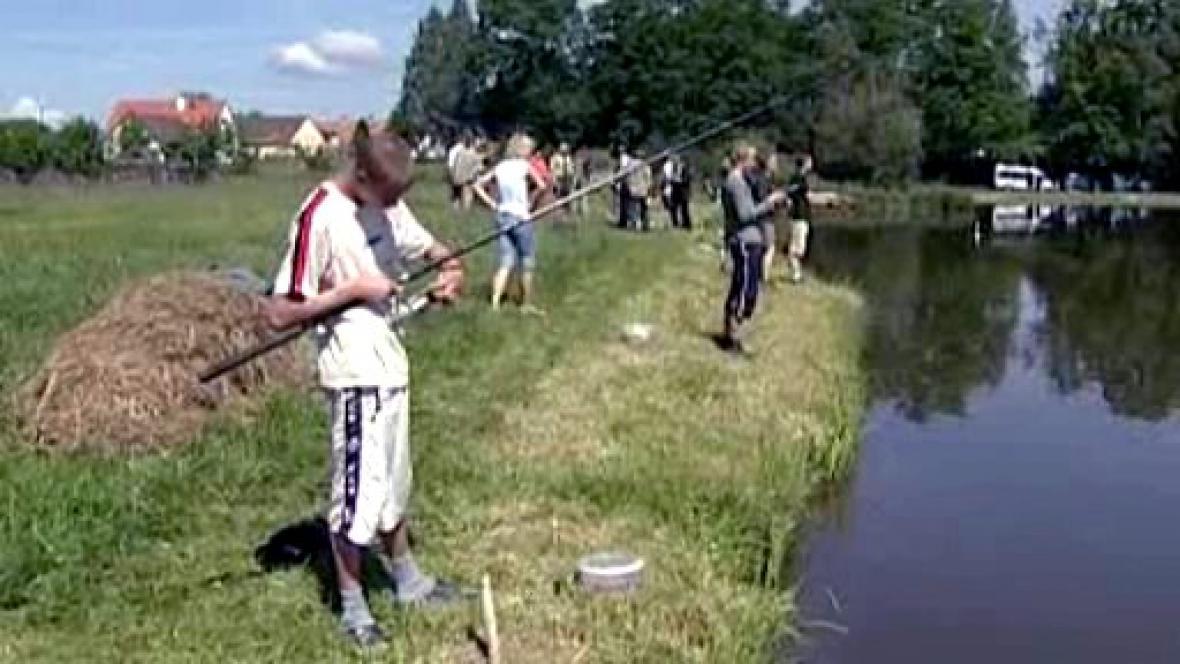 Soutěž mladých rybářů
