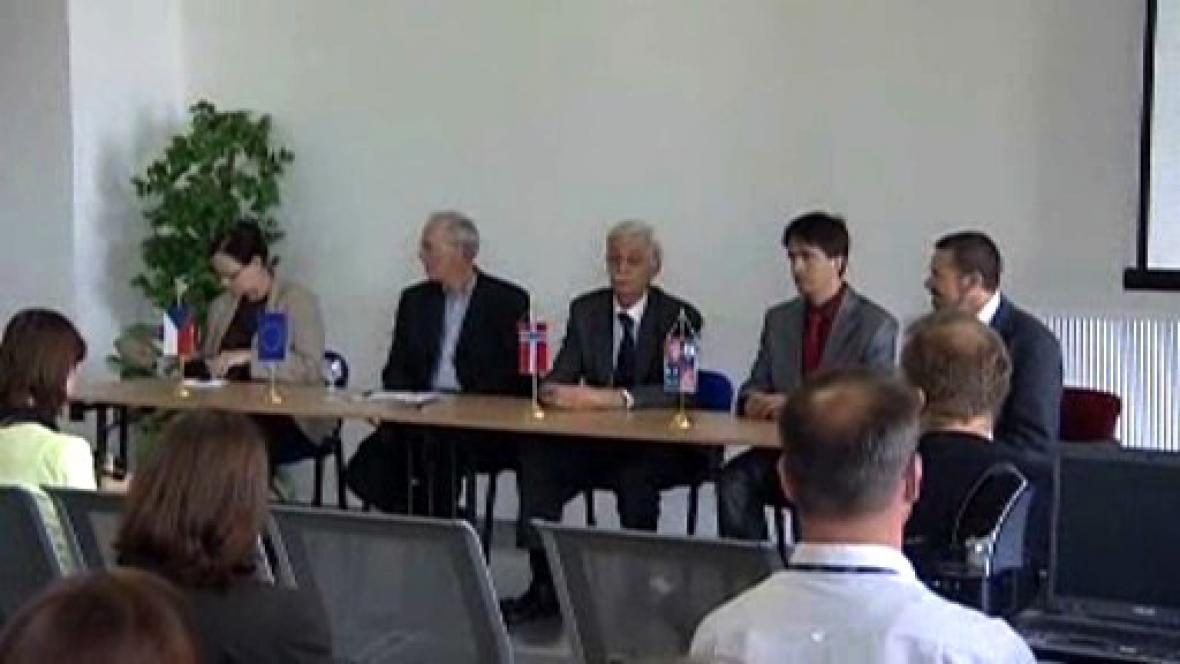 Mezinárodní návštěva v Karlových Varech