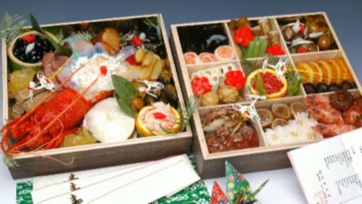 Novoroční oběd pro Japonce