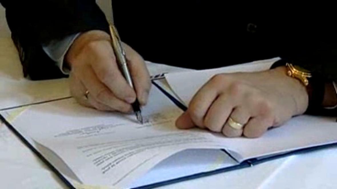 Podpis koordinační dohody