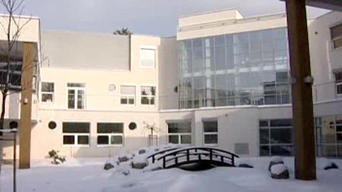 Nová budova psychiatrické kliniky