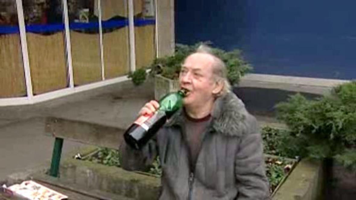 Popíjení alkoholu
