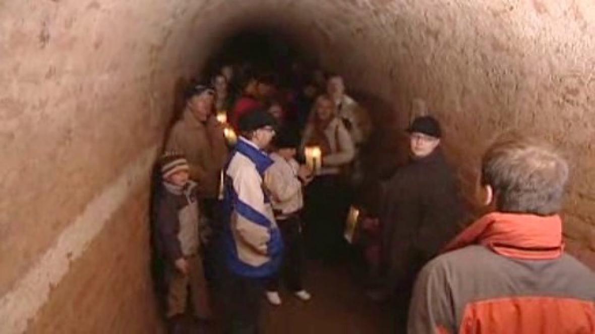 Podzemí josefovské pevnosti