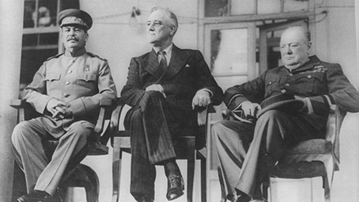 Konference Velké trojky v Teheránu