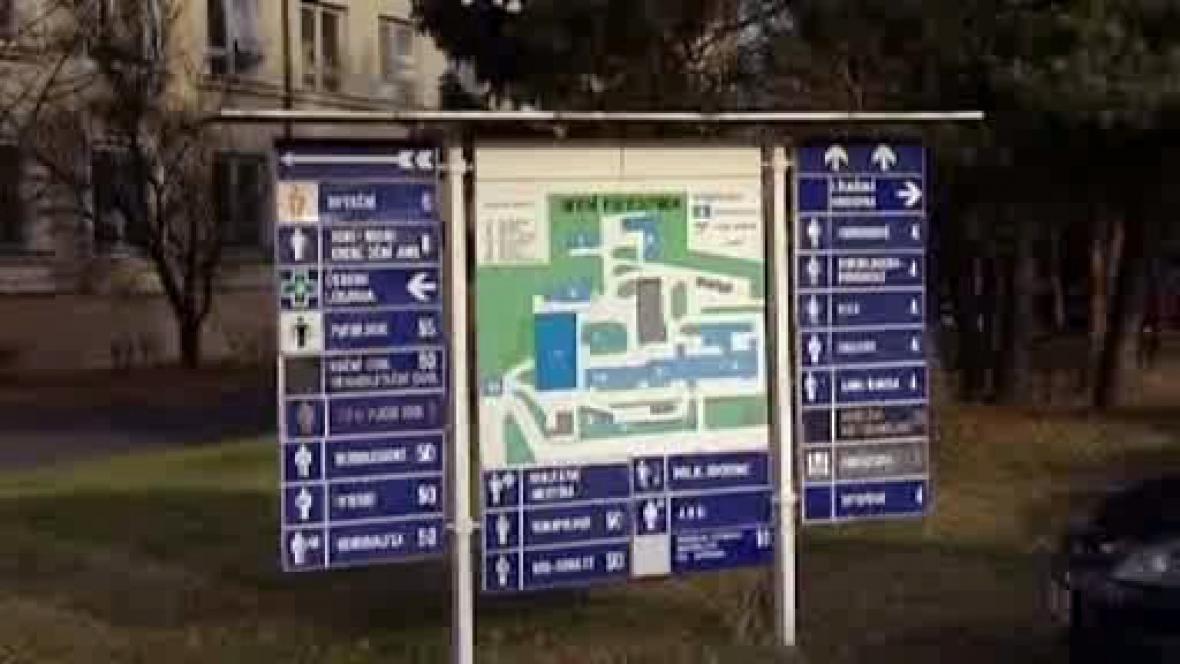 Orientační plán nemocnice