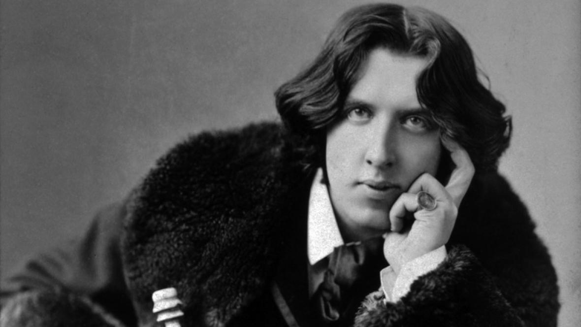 Spisovatel Oscar Wilde