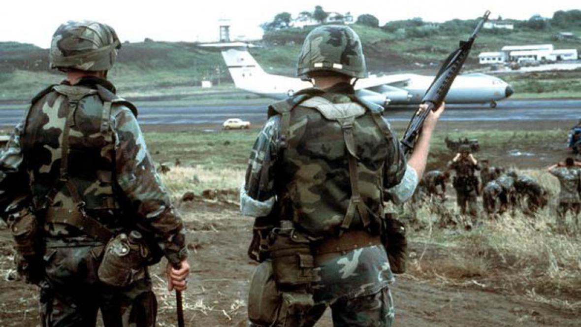 Anerická invaze do Grenady