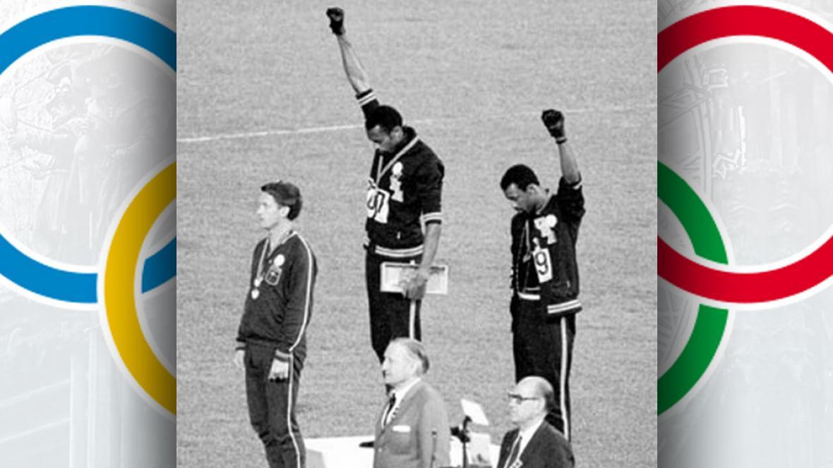 Protest amerických atletů na LOH v Mexiku