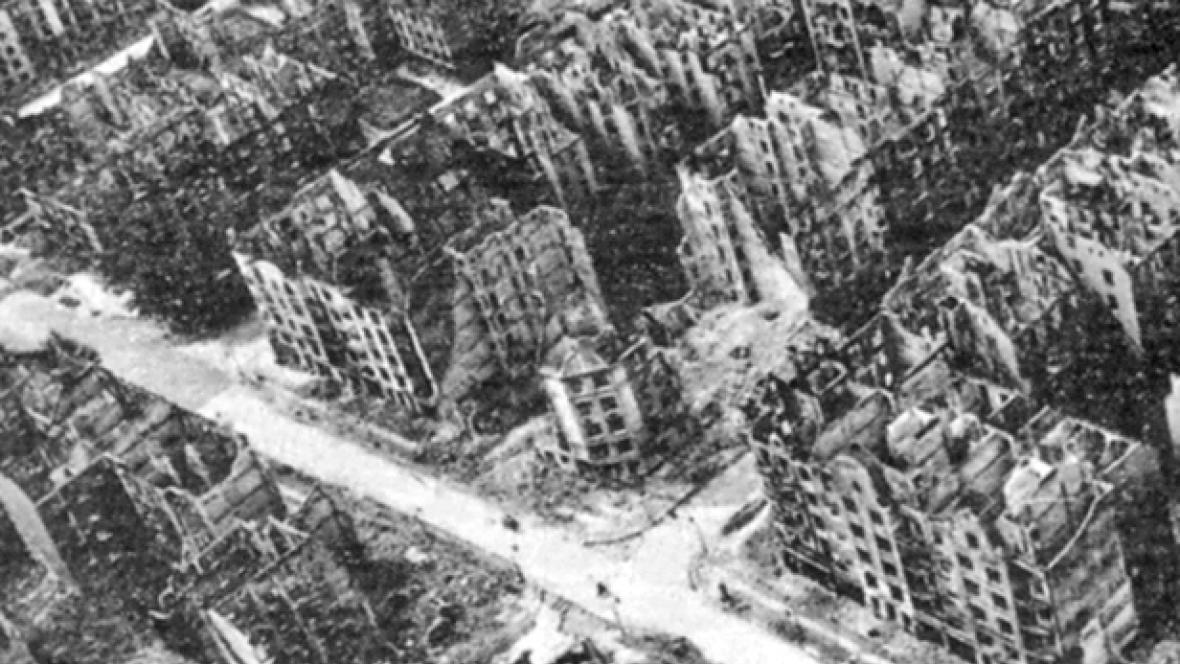 Hamburk po náletech
