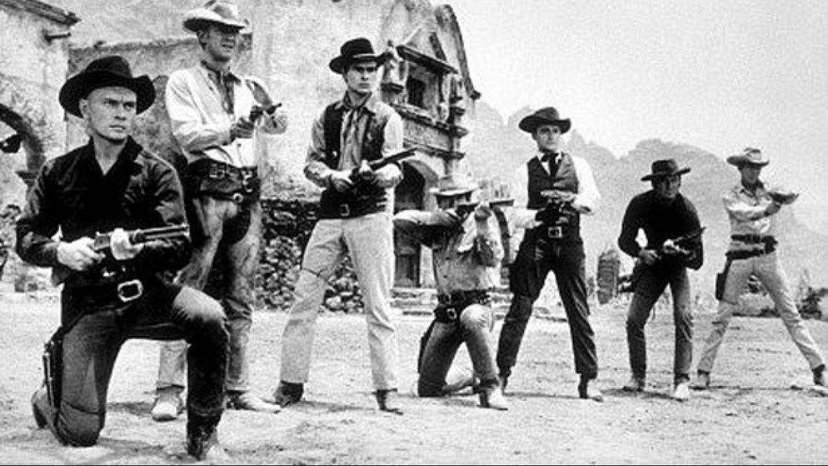 Charles Bronson ve filmu Sedm statečných