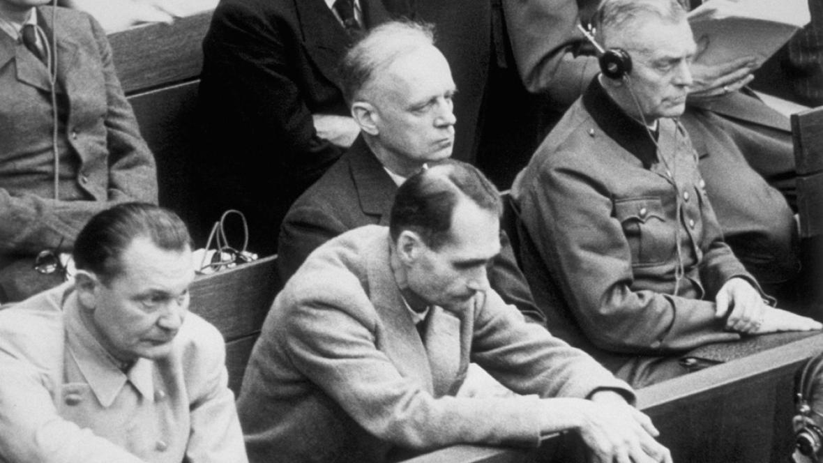 Rudolf Hess u soudu
