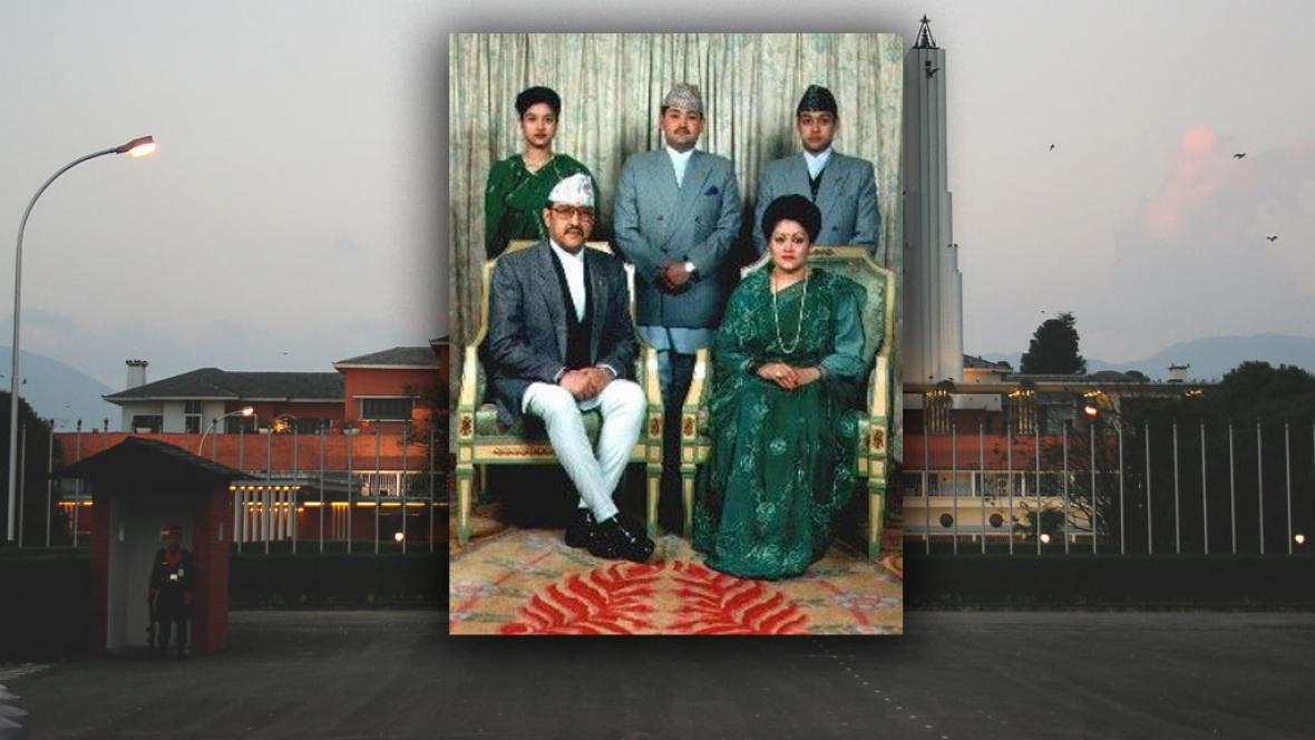 Nepálská královská rodina