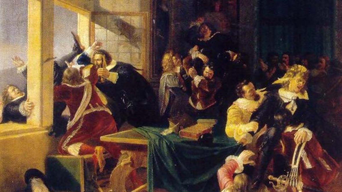 Pražská defenestrace