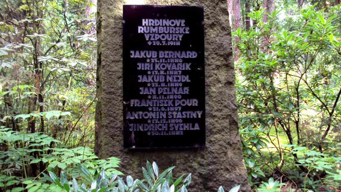 Památník rumburské vzpoury